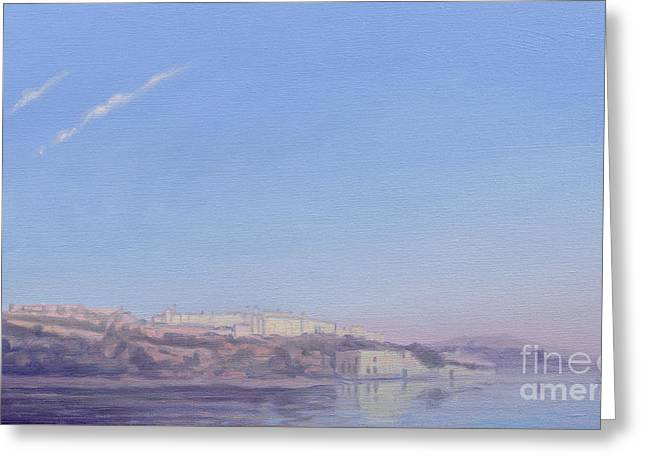 Dawn At Jaipur Greeting Card by Derek Hare