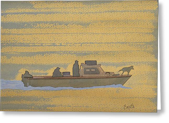Dawn At Prout's Neck   Greeting Card by Robert Boyette