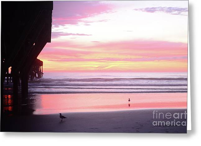 Dawn At The Beach 8-14-16 Greeting Card