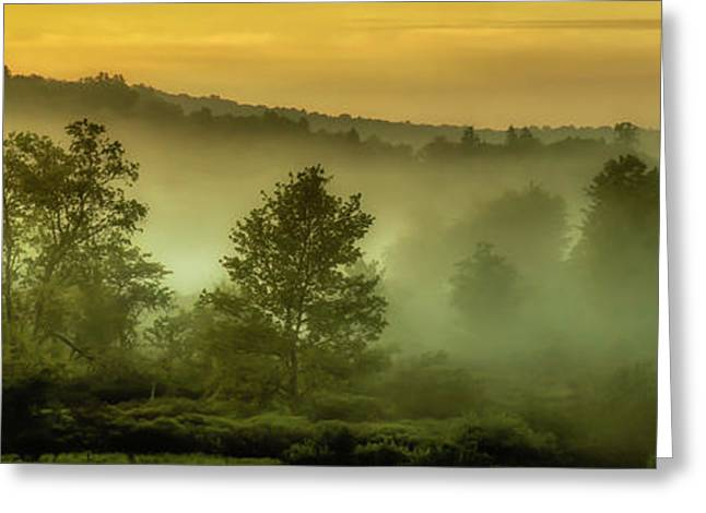Greeting Card featuring the photograph Dawn At Wildlife Management Area by Thomas R Fletcher
