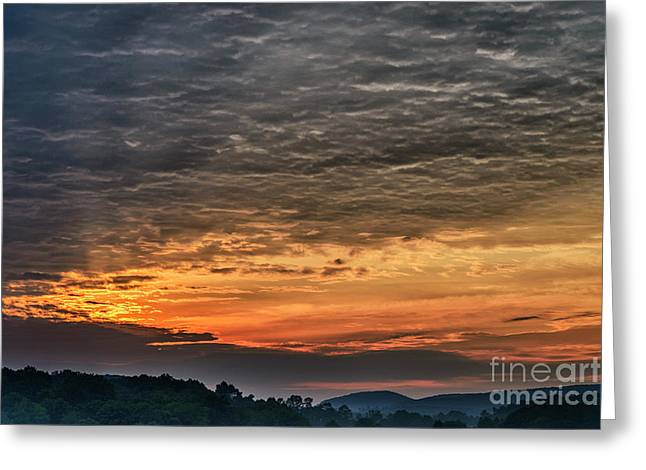 Dawn In West Virginia  Greeting Card by Thomas R Fletcher