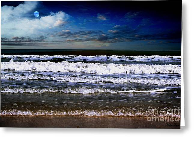 Dawn Of A New Day Seascape C2 Greeting Card