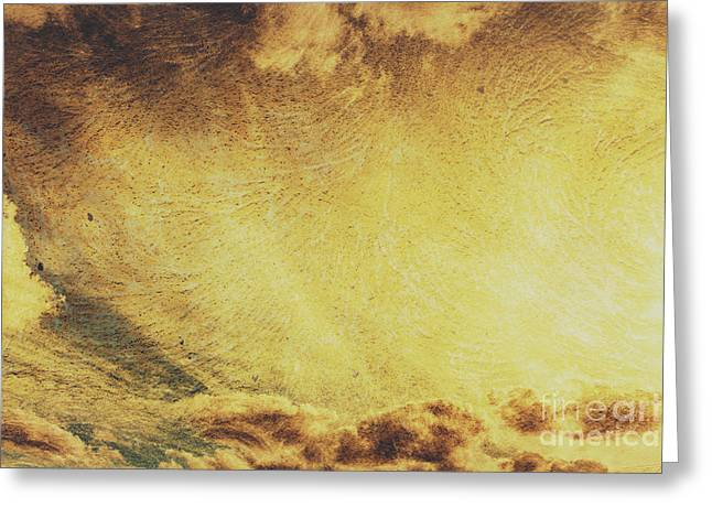 Dawn Of A New Day Texture Greeting Card by Jorgo Photography - Wall Art Gallery