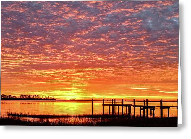 Dawn Of A New Era Greeting Card by Benanne Stiens
