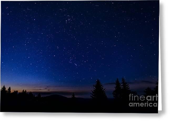 Dawn Of Orion Greeting Card by Thomas R Fletcher