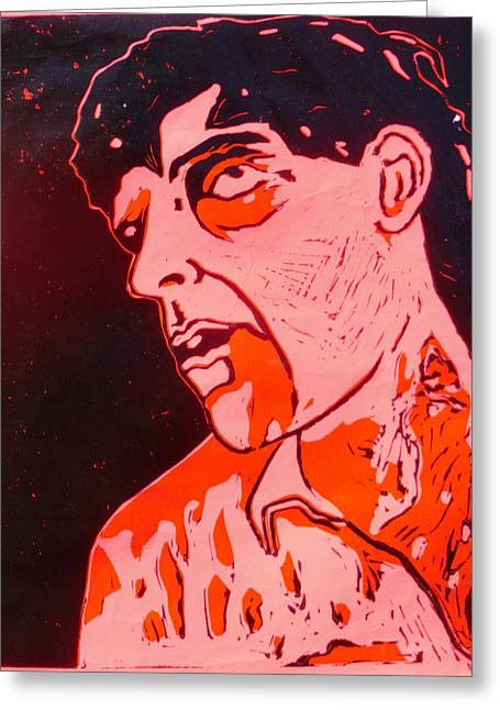 Dawn Of The Dead Print 6 Greeting Card by Sam Hane