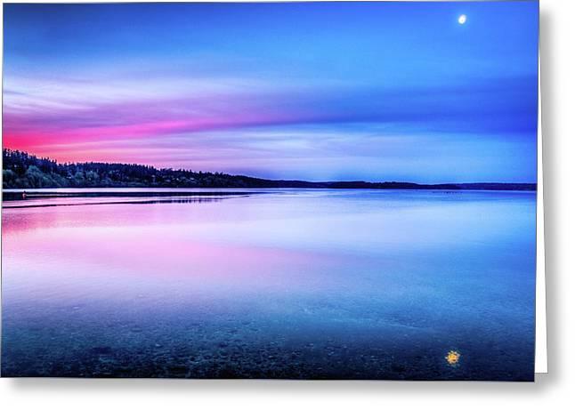 Dawn On Bainbridge Island Greeting Card by Spencer McDonald