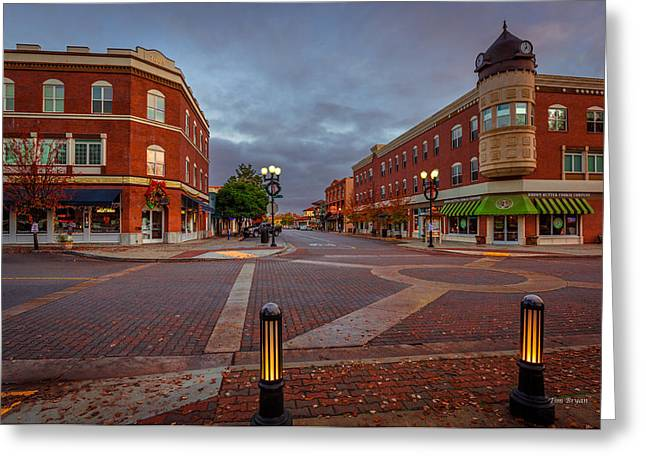 Dawn On Park Street Greeting Card