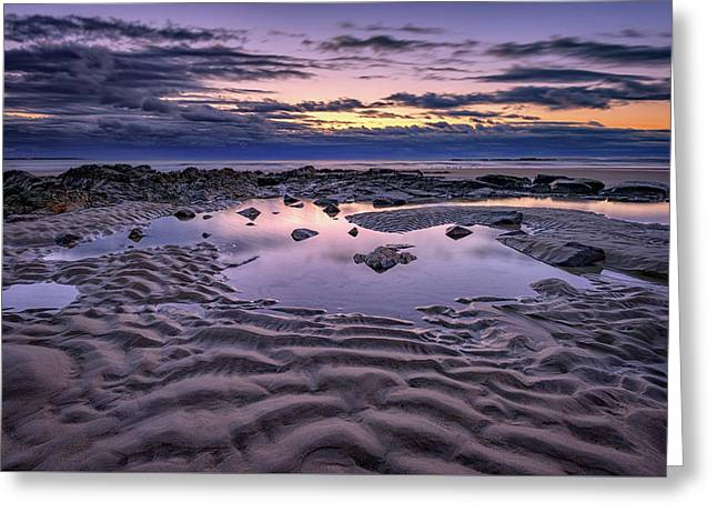 Dawn On Wells Beach Greeting Card