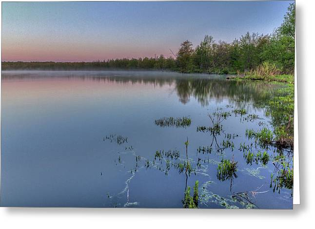 Dawn Over North Bay Greeting Card
