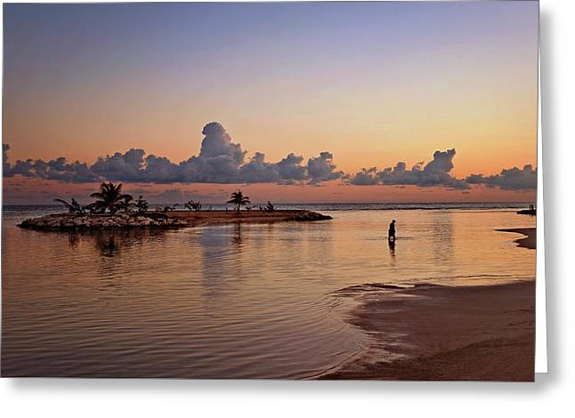 Dawn Reflection Greeting Card