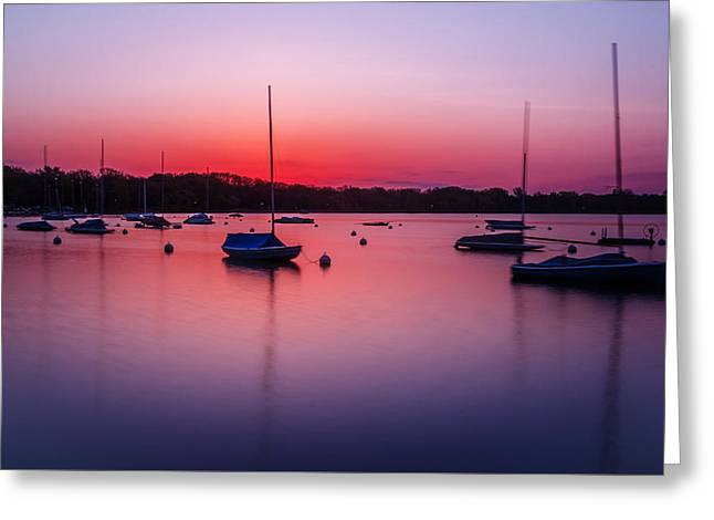 Dawn Greeting Card by RC Pics