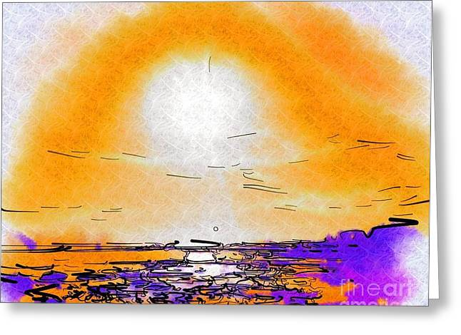 Dawning Greeting Card by Deborah MacQuarrie-Selib