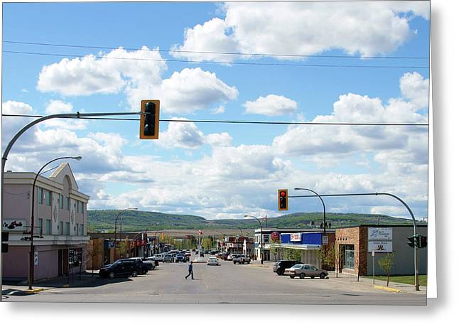 Dawson Creek British Columbia Greeting Card by Robert Braley
