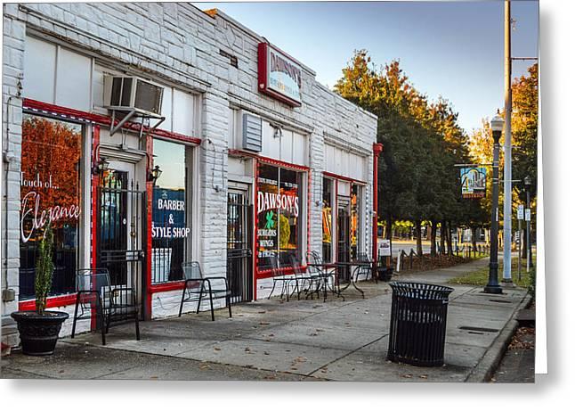 Dawson's Burgers In Birmingham Alabama Greeting Card by Michael Thomas