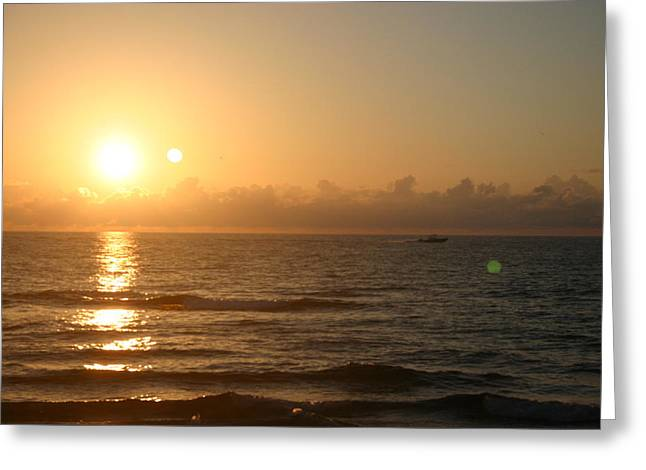 Day Break Greeting Card by Dennis Curry