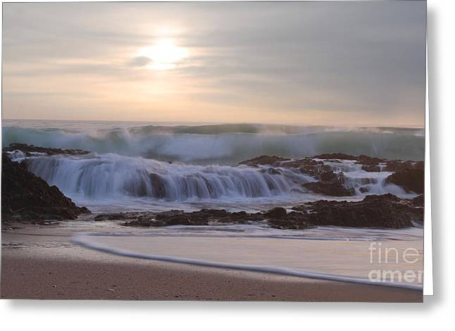 Day Break Paradise Greeting Card by Kym Clarke