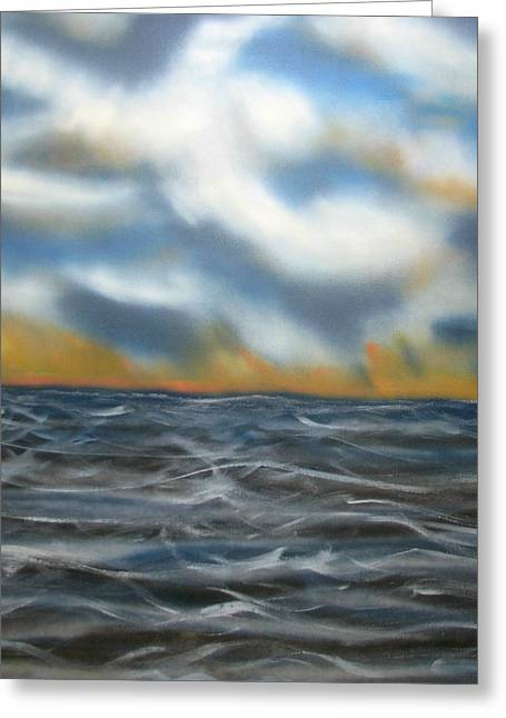 Day Break Sea Greeting Card