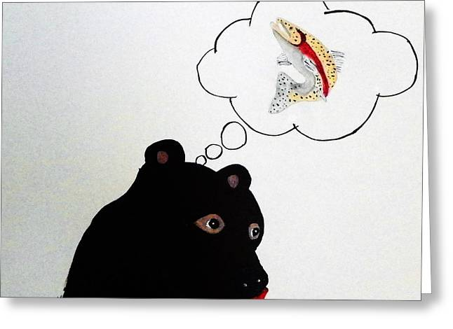Day Dreaming Of Lunch Greeting Card by Joseph Frank Baraba
