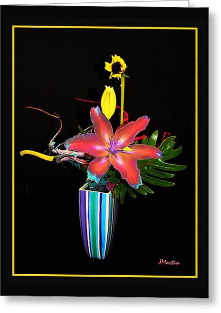 Day Lilly Greeting Card by Joseph Martin