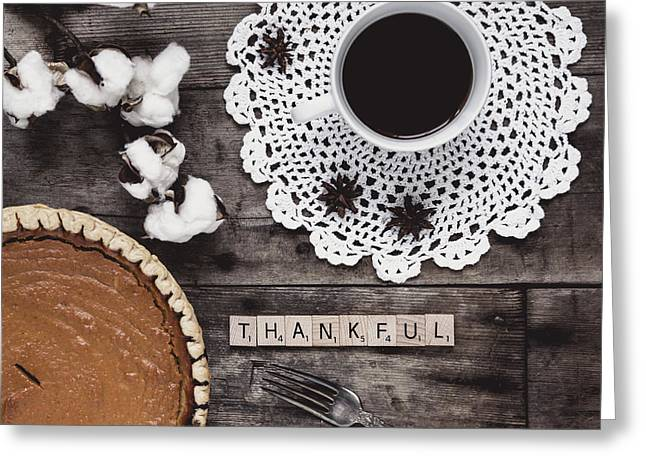 Day Of Thanks Greeting Card