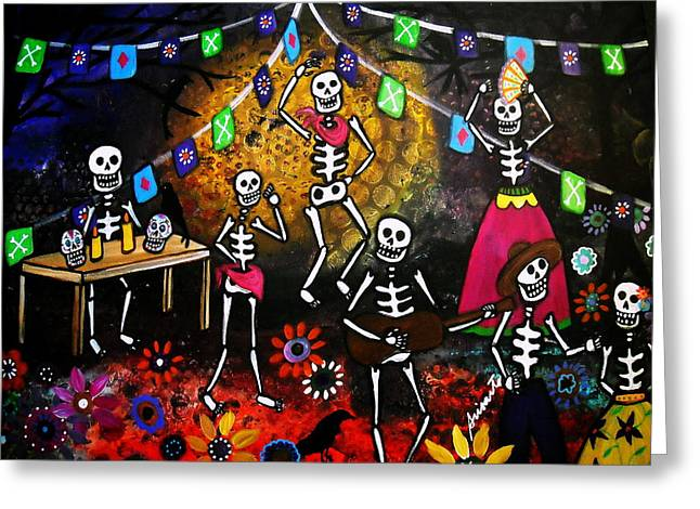 Day Of The Dead Festival Greeting Card