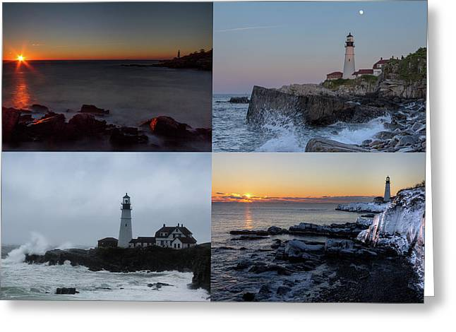 Greeting Card featuring the photograph Day Or Night In Any Season by Darryl Hendricks