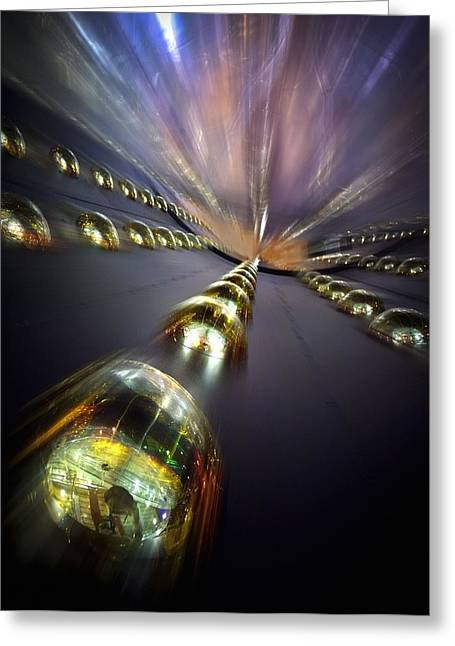 Daya Bay Neutrino Experiment Greeting Card by Lawrence Berkeley National Laboratory