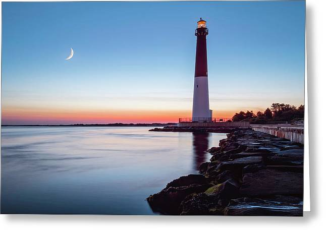 Greeting Card featuring the photograph Daybreak At Barnegat by Eduard Moldoveanu
