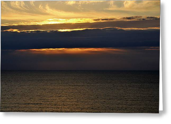 Greeting Card featuring the photograph Daybreak by Gerlinde Keating - Galleria GK Keating Associates Inc