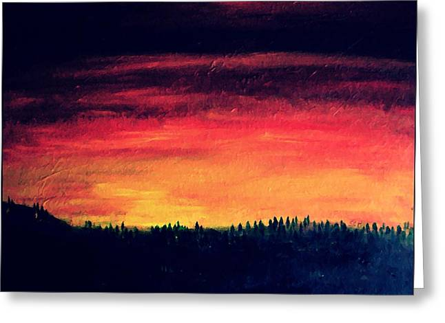 Daybreak Number Four Greeting Card by Scott Haley