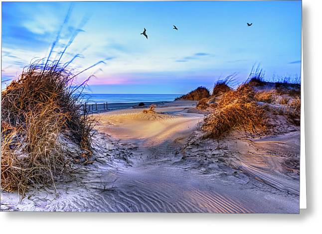 Daybreak On The Outer Banks 1 Greeting Card
