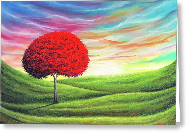 Daybreak Greeting Card by Rachel Bingaman