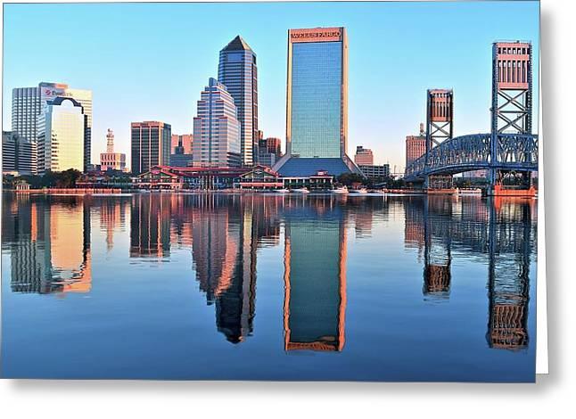 Daybreaks In Jacksonville Greeting Card