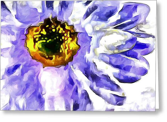 Daydream Daisy Greeting Card by Krissy Katsimbras