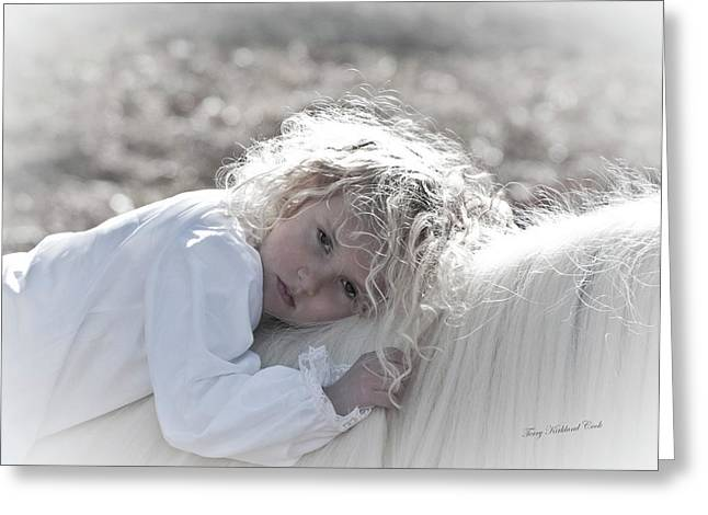 Daydreaming Greeting Card by Terry Kirkland Cook
