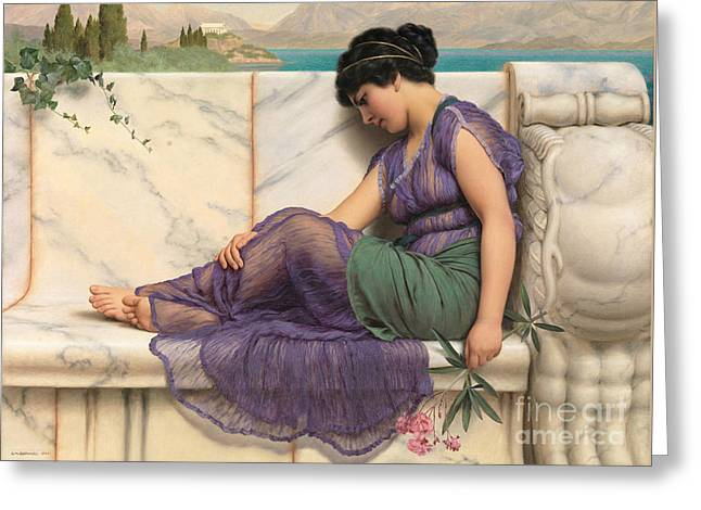 Daydreams 1909 Greeting Card by Padre Art