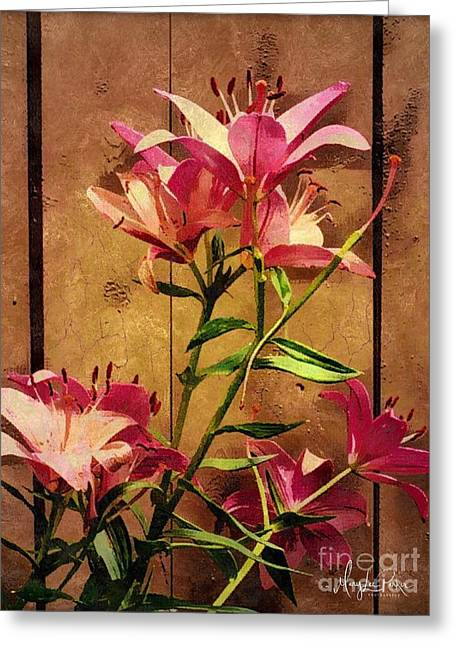 Dayliliys In  Guilford , Conn Greeting Card