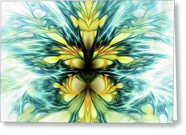 Dayqueen #art #abstract #digitalart Greeting Card by Michal Dunaj