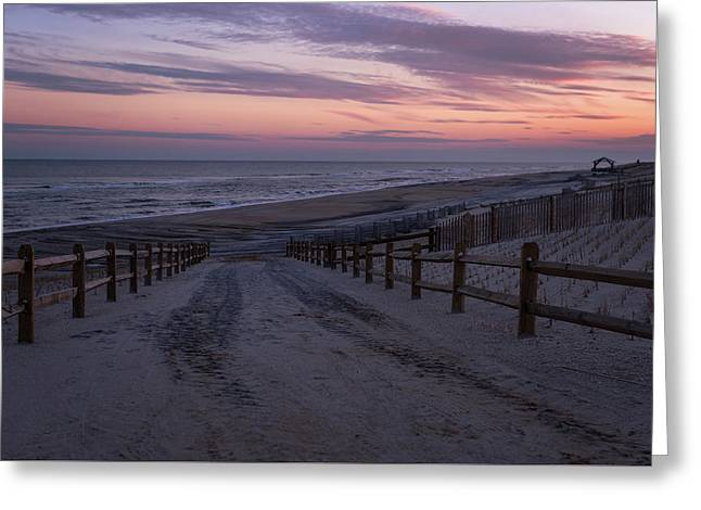 Days End Beach Haven New Jersey  Greeting Card
