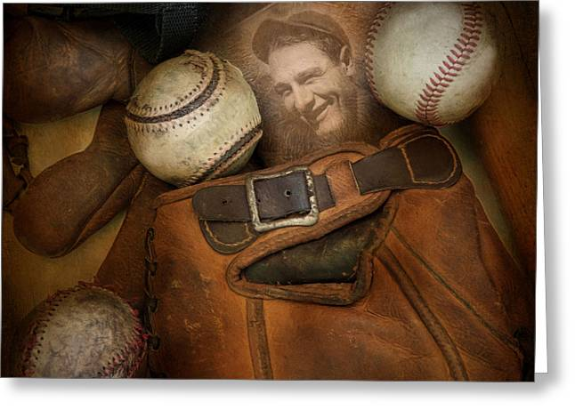 Greeting Card featuring the photograph Days Gone By by Robin-lee Vieira