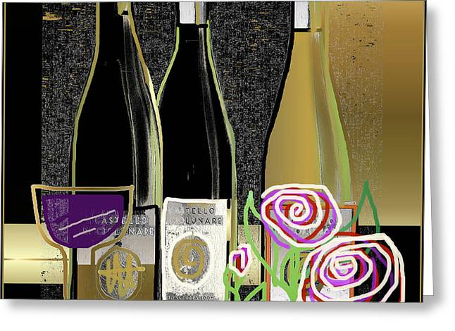 Days Of Wine And Roses Greeting Card