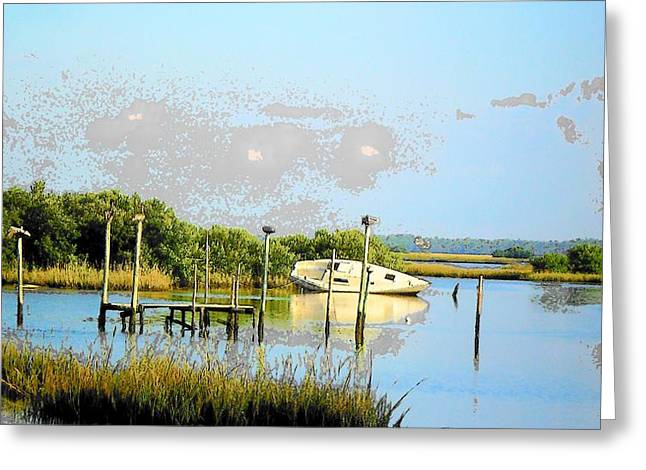 Days Past Greeting Card by Sheri McLeroy