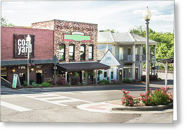 Daytime In Old Town Helena Greeting Card