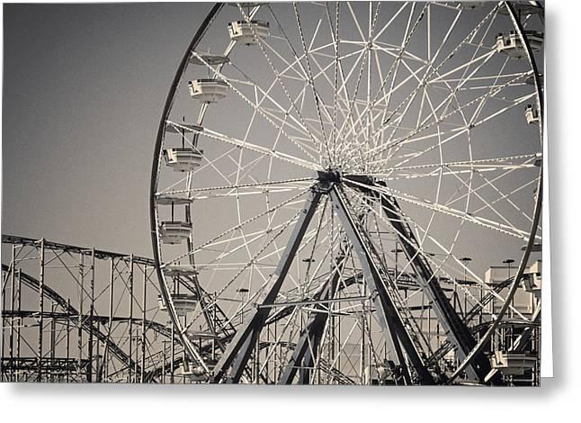 Daytona Beach Ferris Wheel Greeting Card