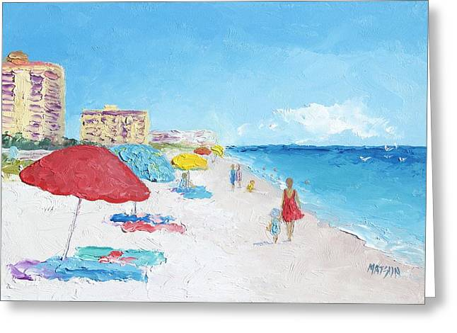 Daytona Beach Greeting Card
