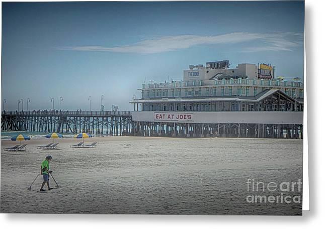 Daytona Beach Pier Greeting Card