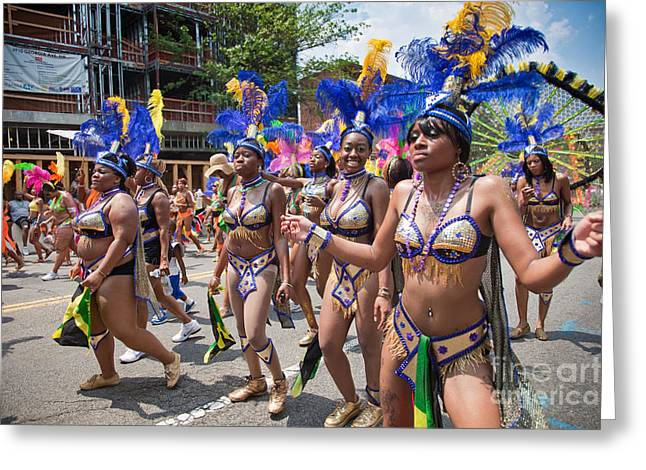 Dc Caribbean Carnival No 10 Greeting Card by Irene Abdou