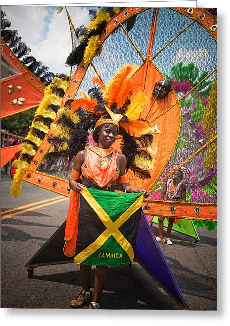 Dc Caribbean Carnival No 13 Greeting Card by Irene Abdou