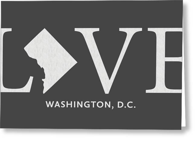 Dc Love Greeting Card